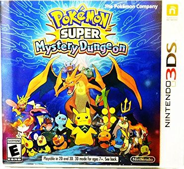 Pokemon Super Mystery Dungeon Release Date 3ds