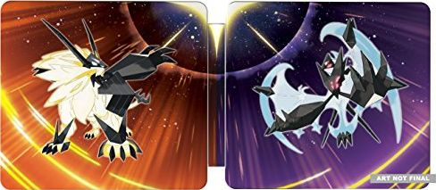 Pokemon Ultra Sun and Ultra Moon Steelbook Dual Pack