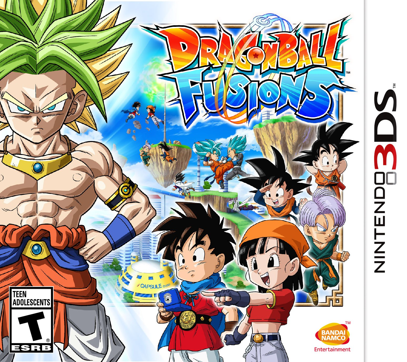 What Genre Is Warriors Into The Wild: Dragon Ball Fusions Release Date (3DS