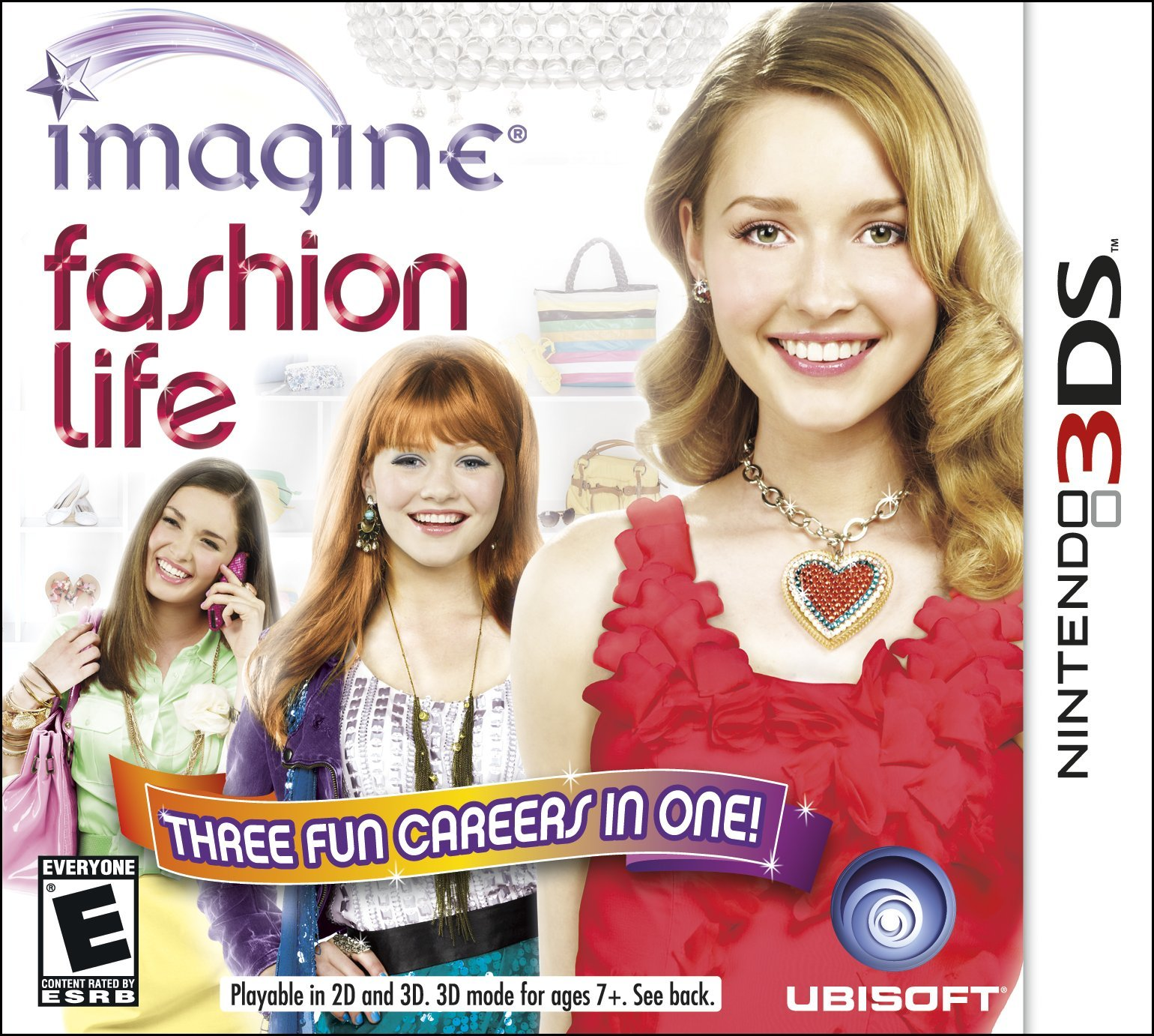 Imagine Fashion Designer for Nintendo 3DS - Nintendo Game Details 75