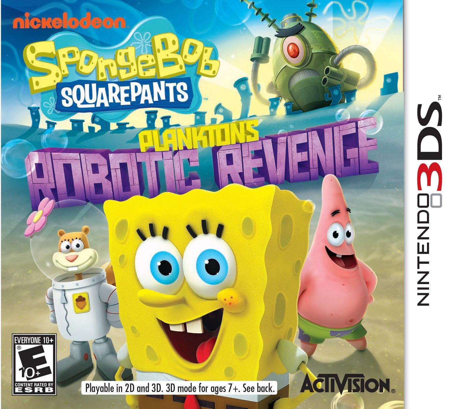 SpongeBob SquarePants: Plankton's Robotic Revenge Release ...