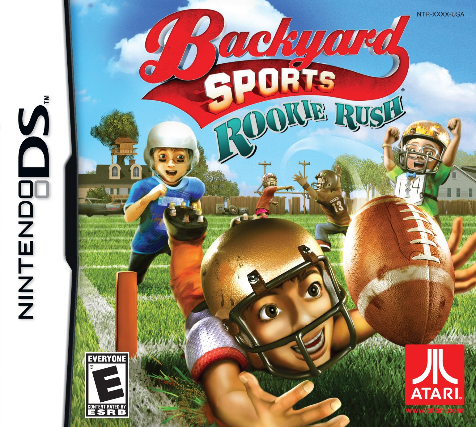 backyard sports football rookie rush release date xbox 360 wii ds