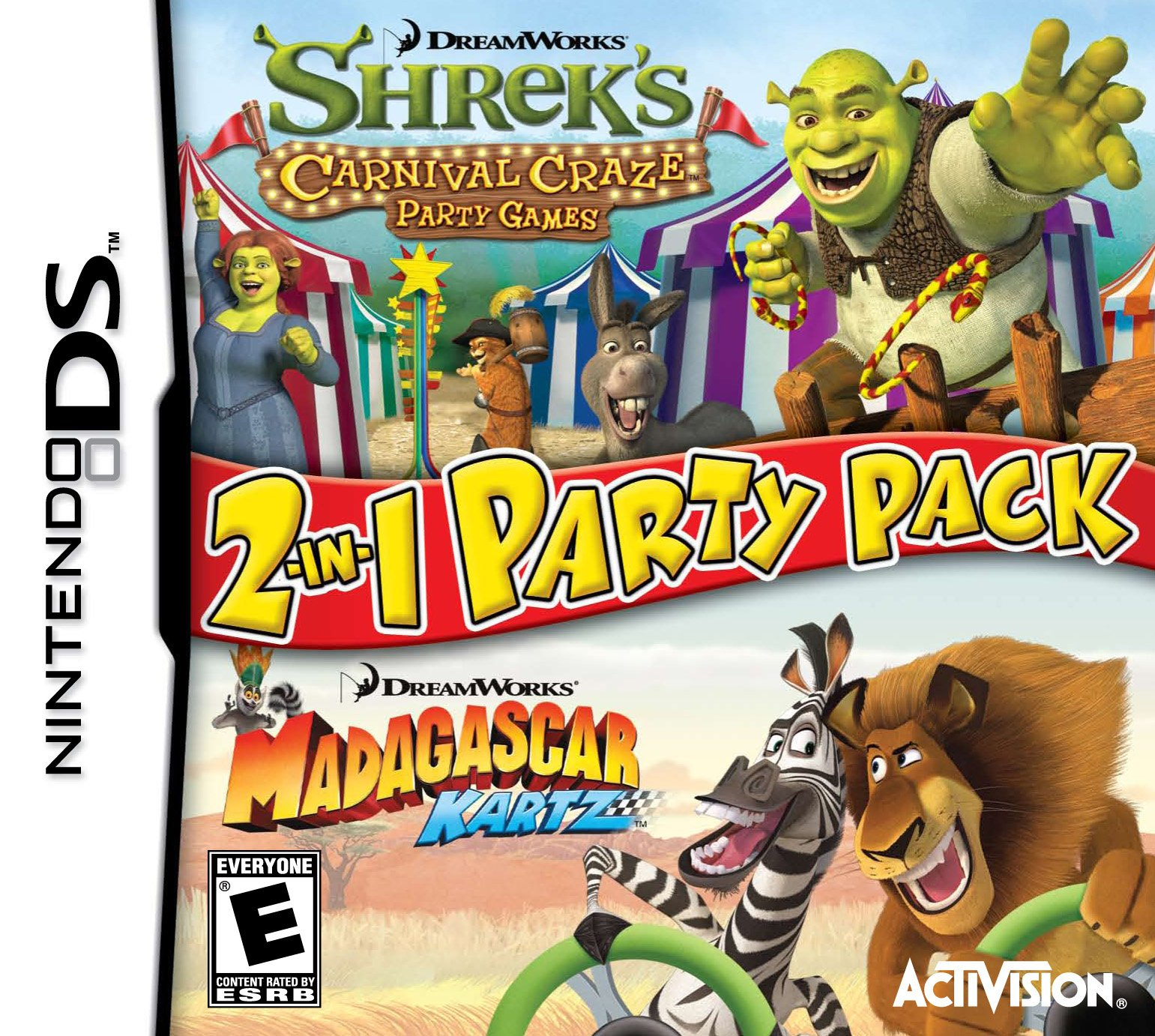 Dreamworks Party Pack Release Date Ds Animal Cover