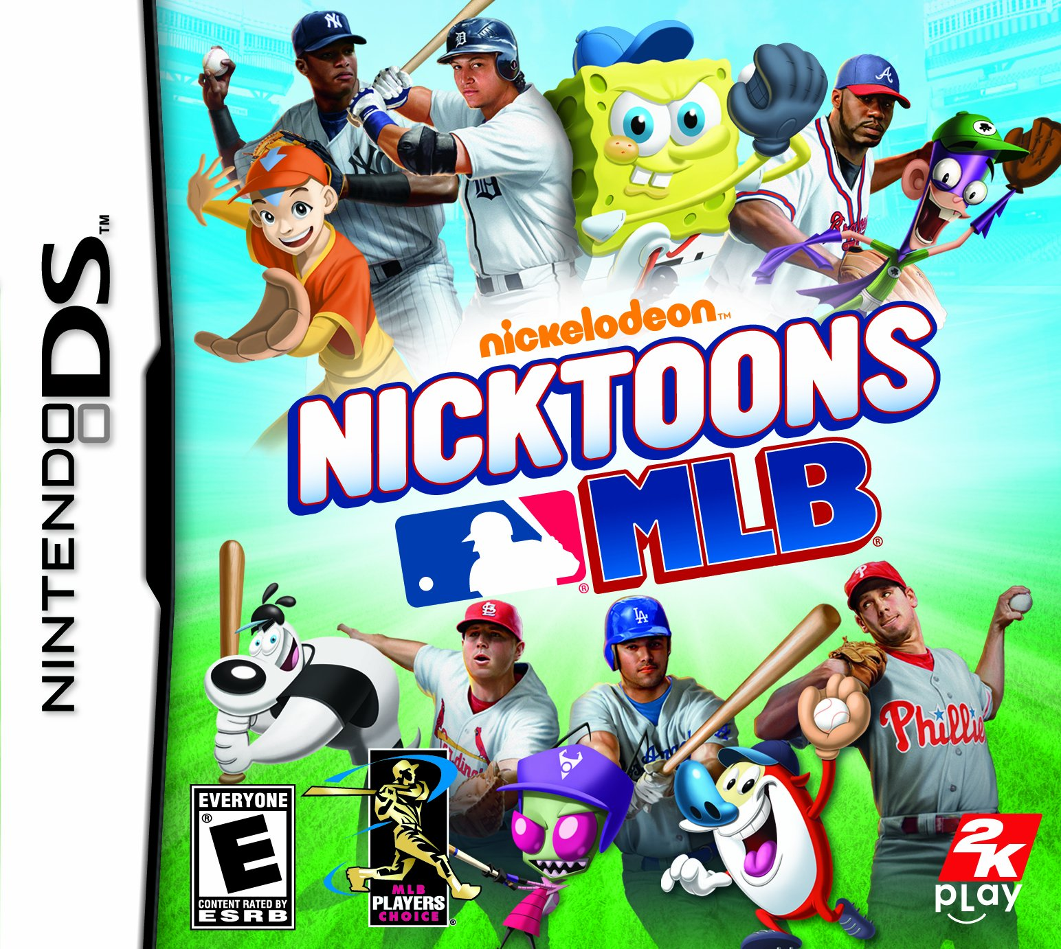 Nicktoons MLB Release Date (Xbox 360, Wii, DS