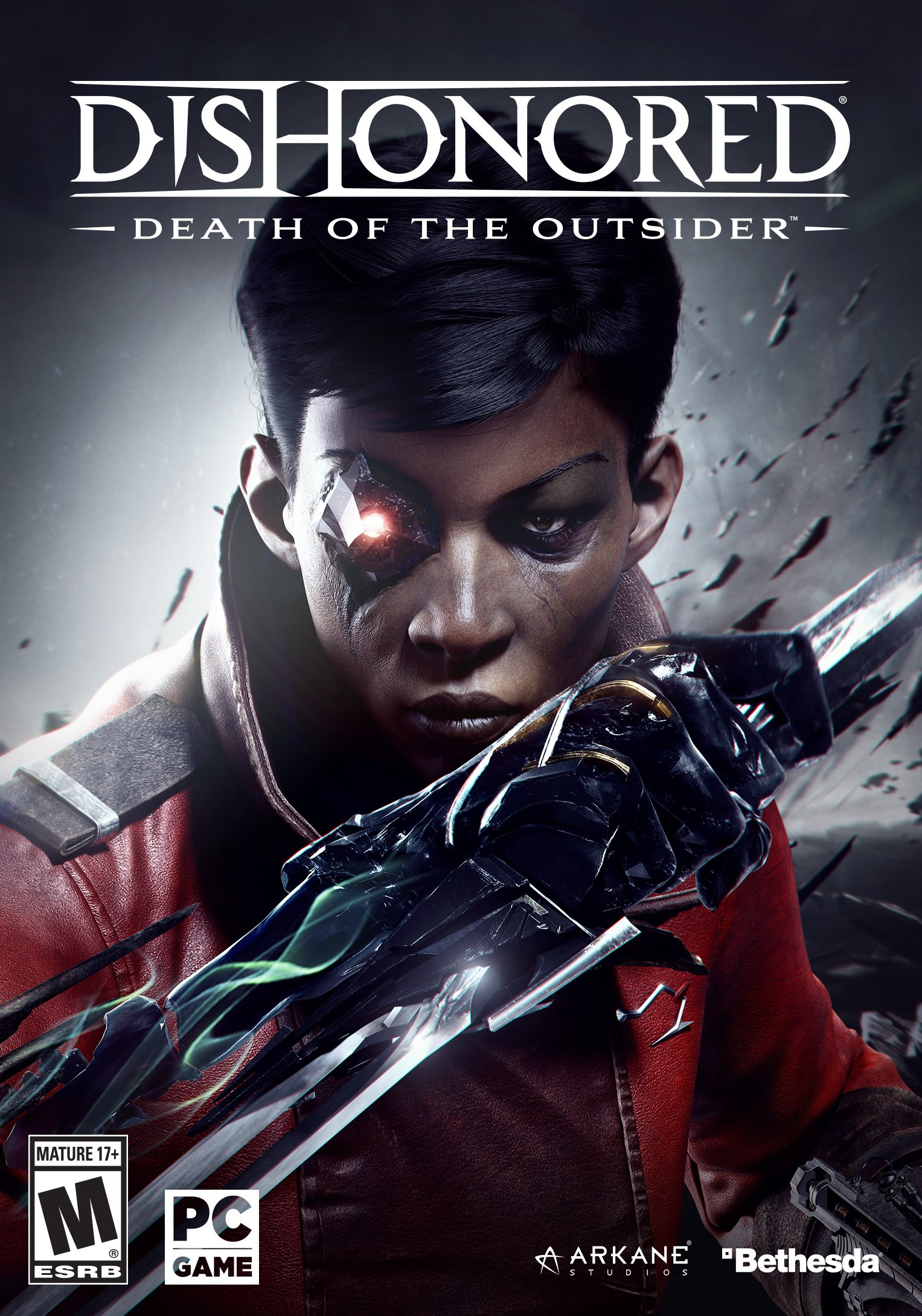 Image result for Dishonored Death Of The Outsider cover pc