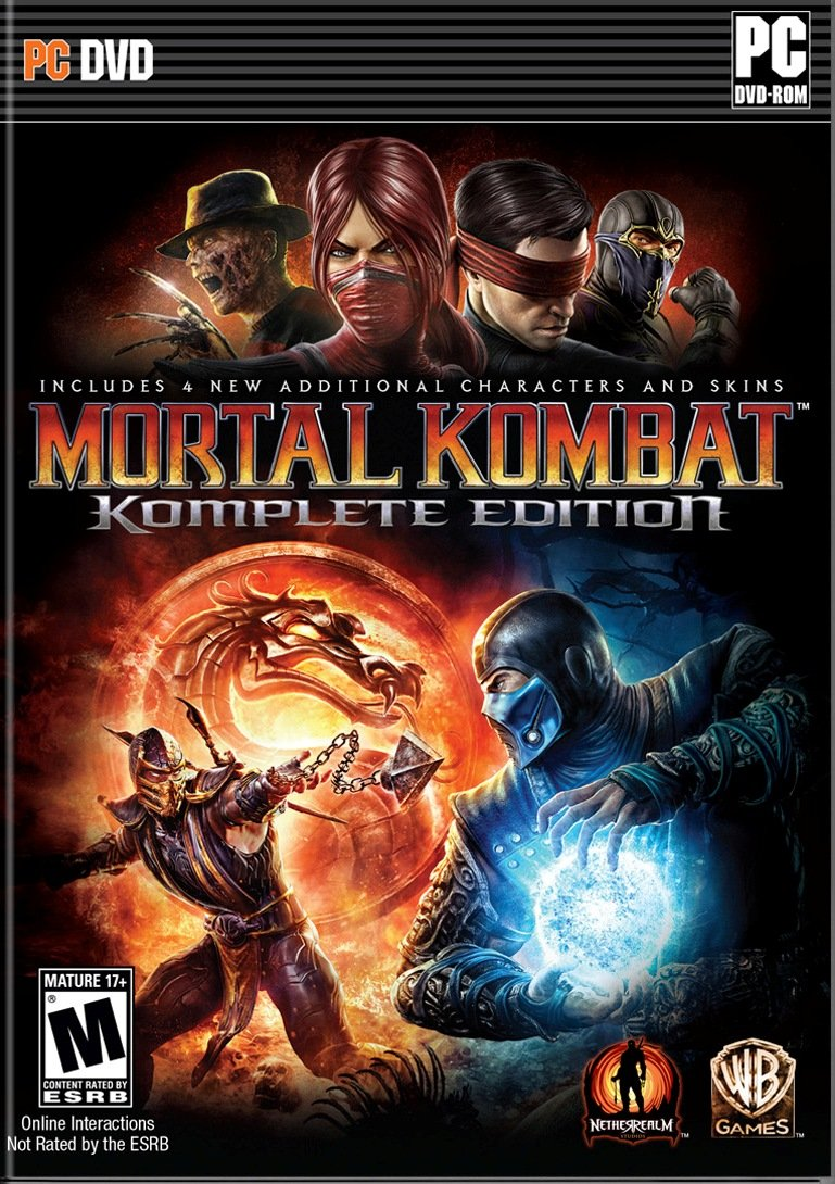 Mortal kombat: komplete edition steam key global g2a. Com.