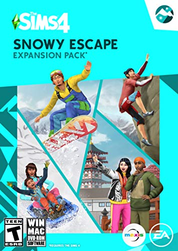 Sims 4 Snowy Escape Expansion Pack