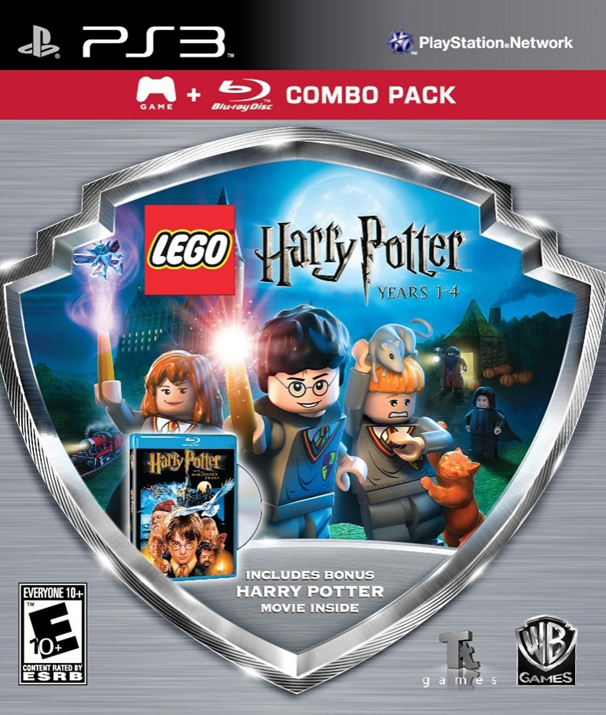 Lego Harry Potter Anos 1 4 Juego Pelicula En Blu Ray