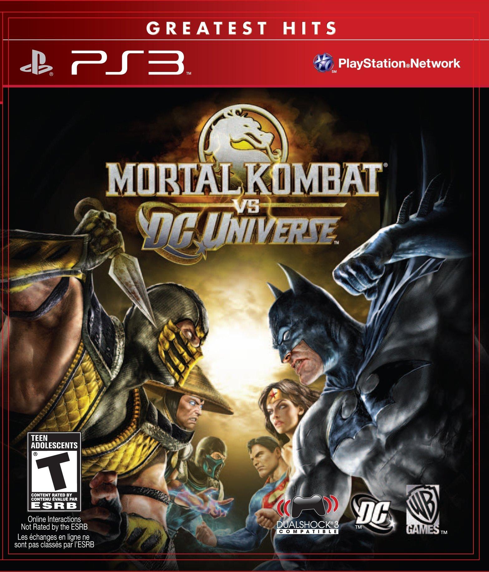 Mario Kart 8 Deluxe Release Date >> Mortal Kombat vs. DC Universe Release Date (Xbox 360, PS3)
