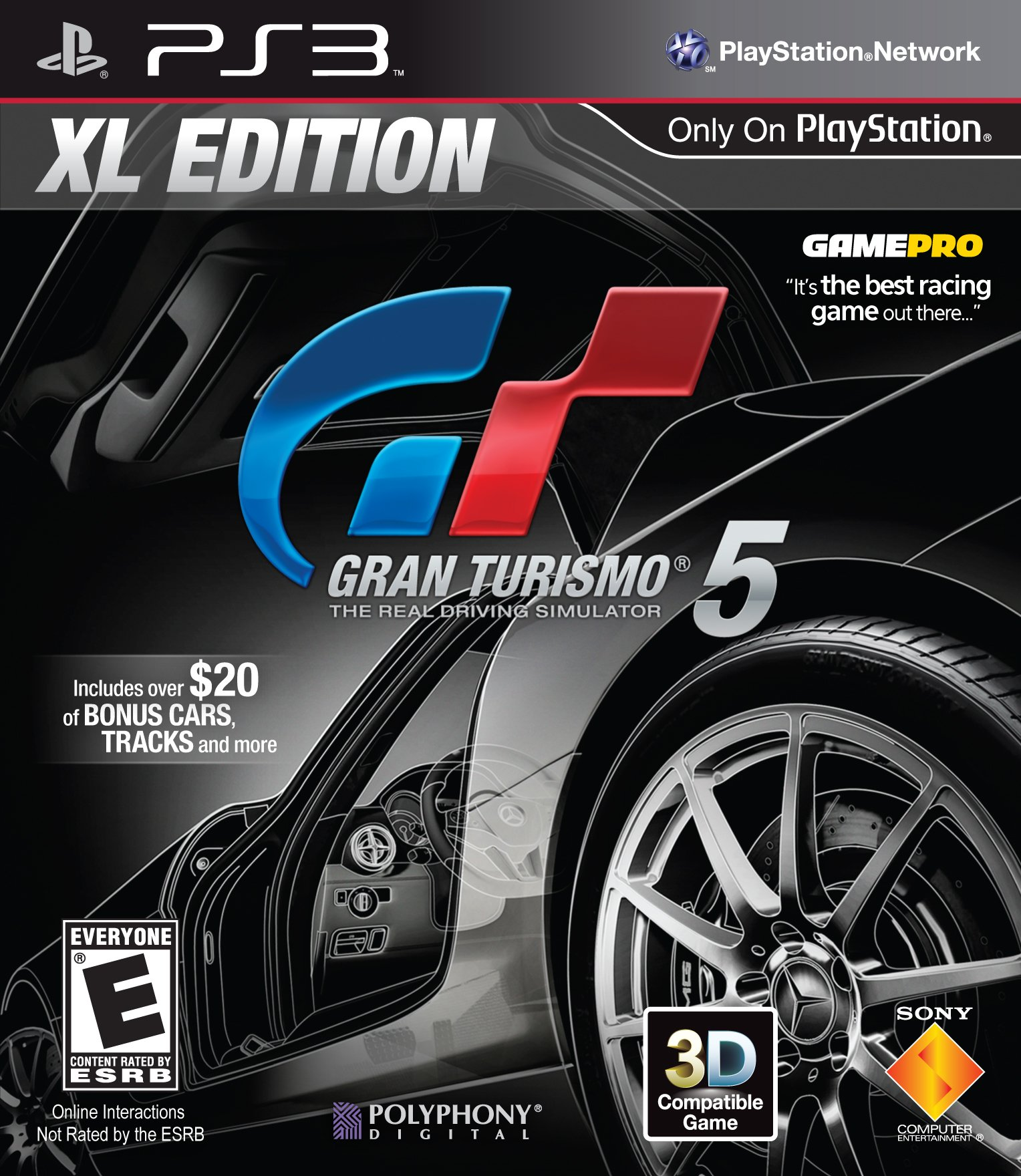 gran turismo 5 xl edition release date ps3. Black Bedroom Furniture Sets. Home Design Ideas