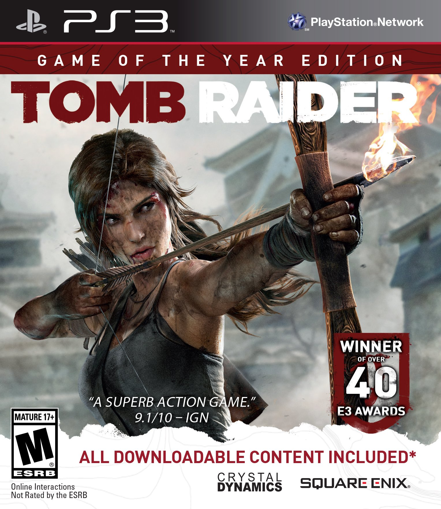 Best Buy: Tomb Raider: Game of the Year Edition Xbox 360 91371