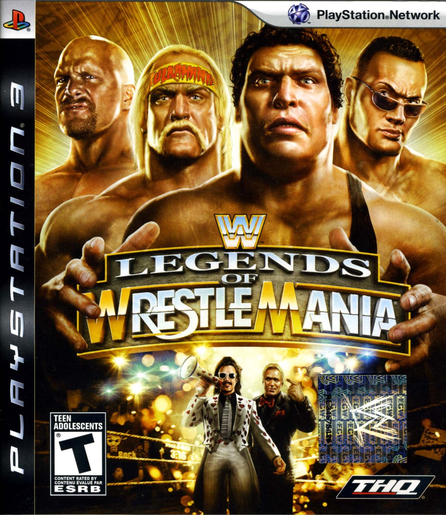 New Wrestling Game For Ps3 : Wwe legends of wrestlemania release date xbox ps