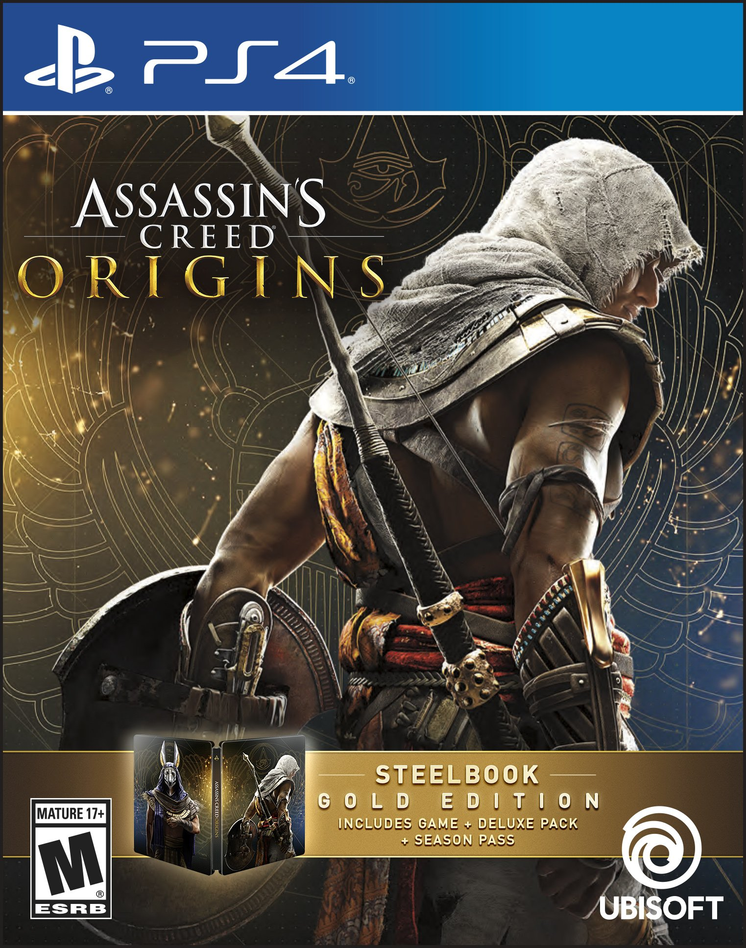 Cover Assassins Creed Origins Steelbook Gold Edition Ac Odyssey Take Photo