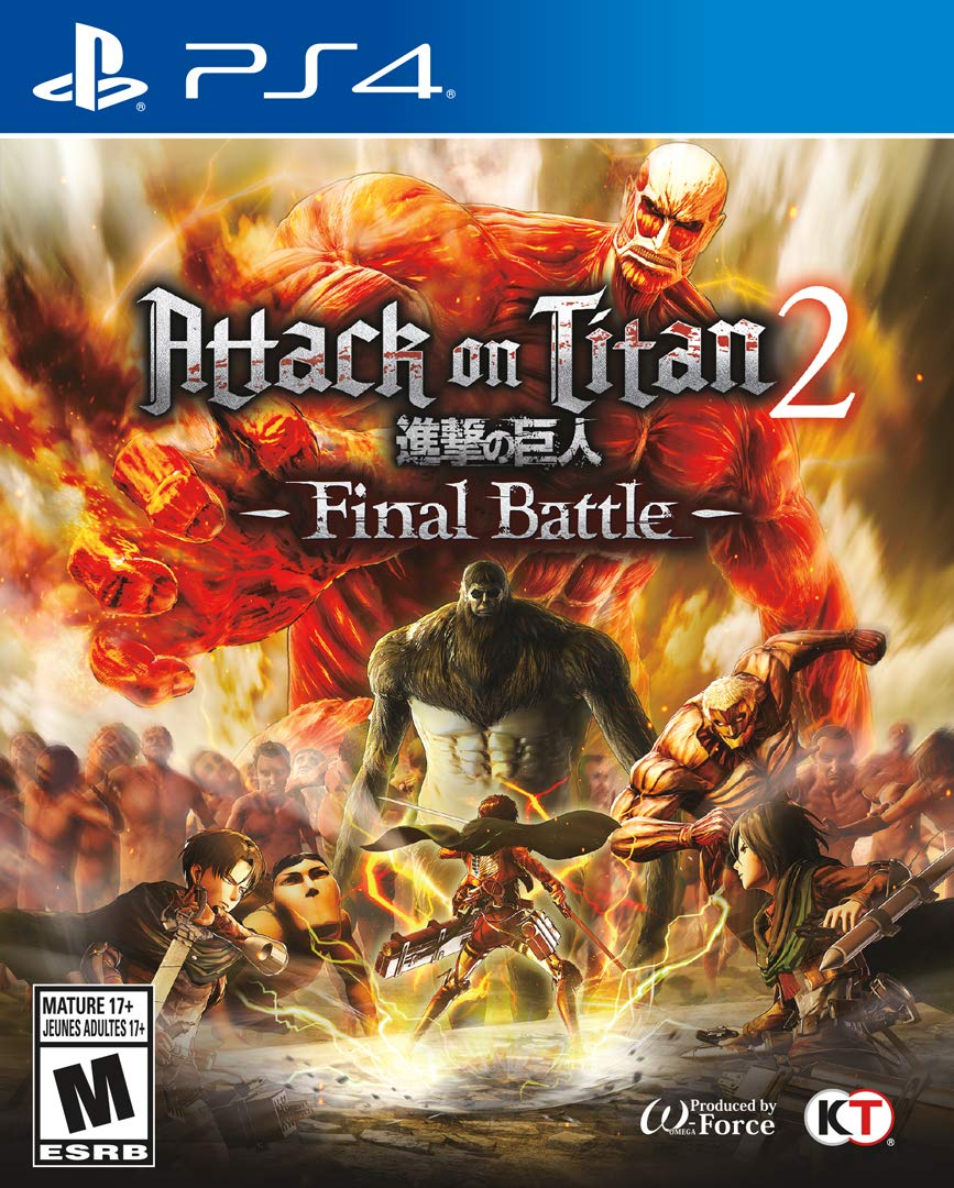 Attack On Titan 2: Final Battle Release Date (Xbox One ...