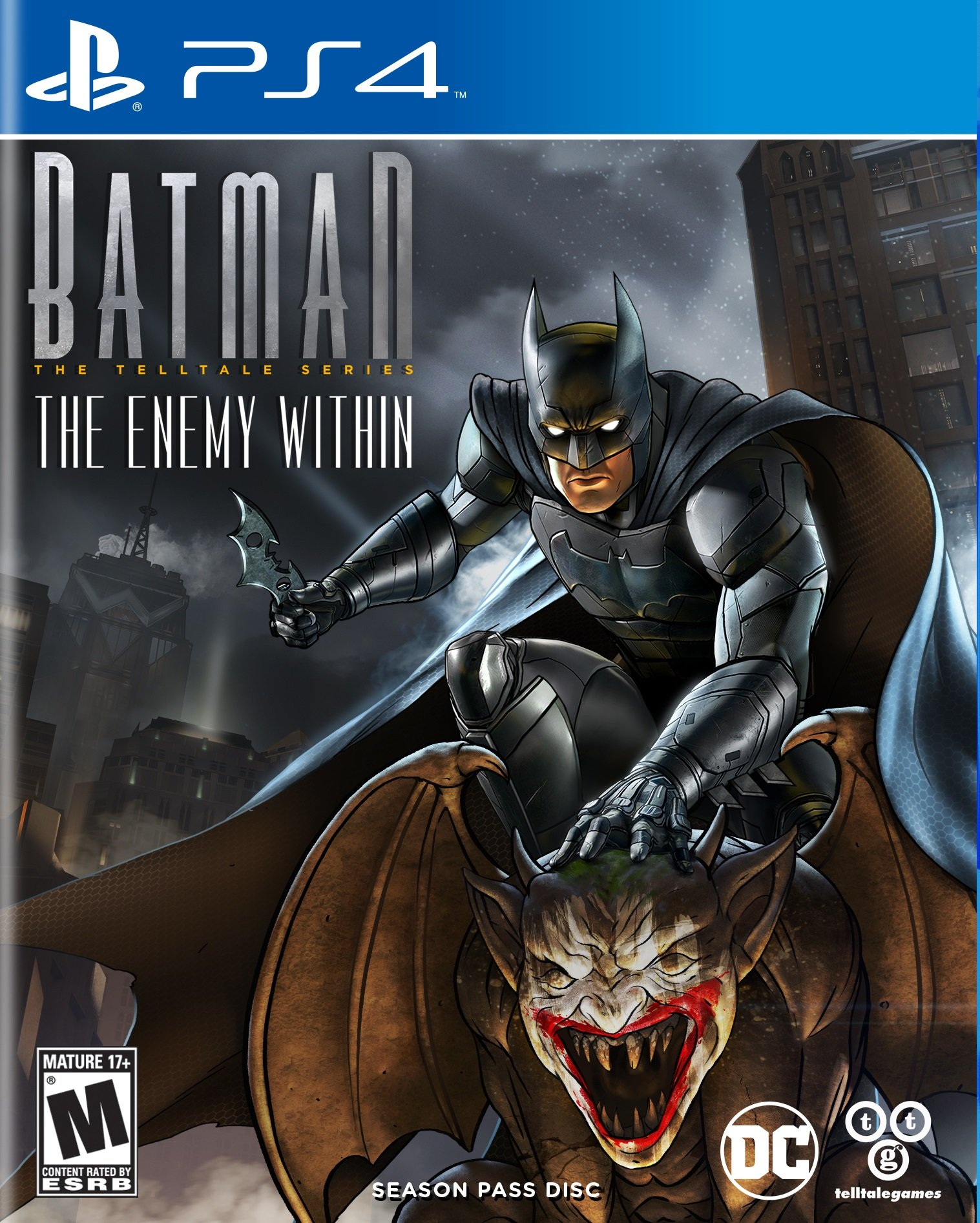 Batman The Enemy Within Release Date Switch Xbox One Ps4