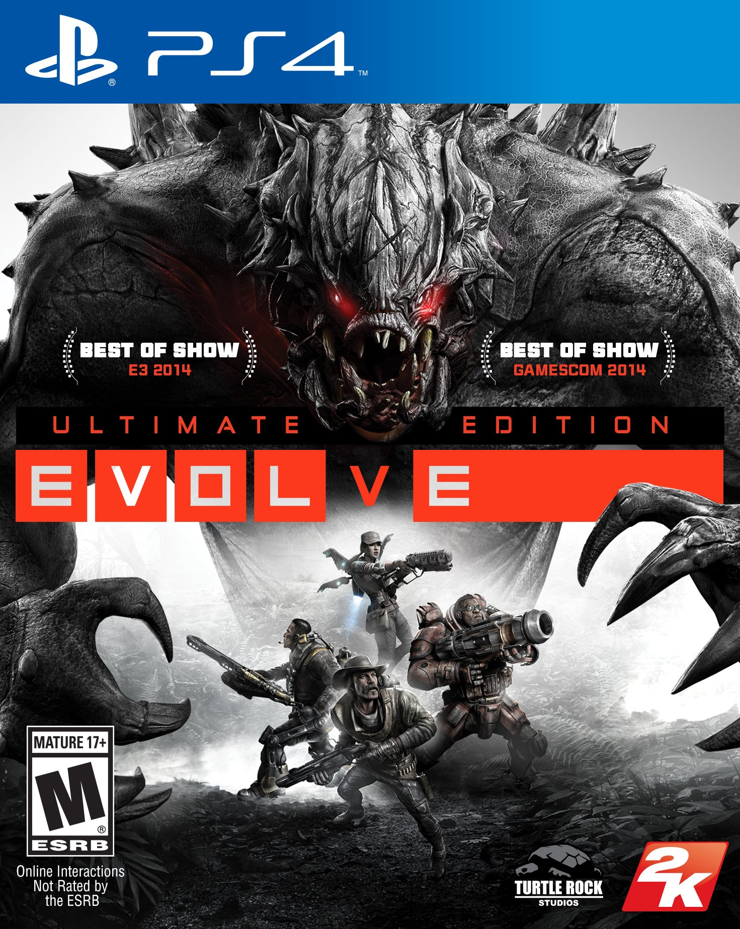 Evolve release date in Sydney