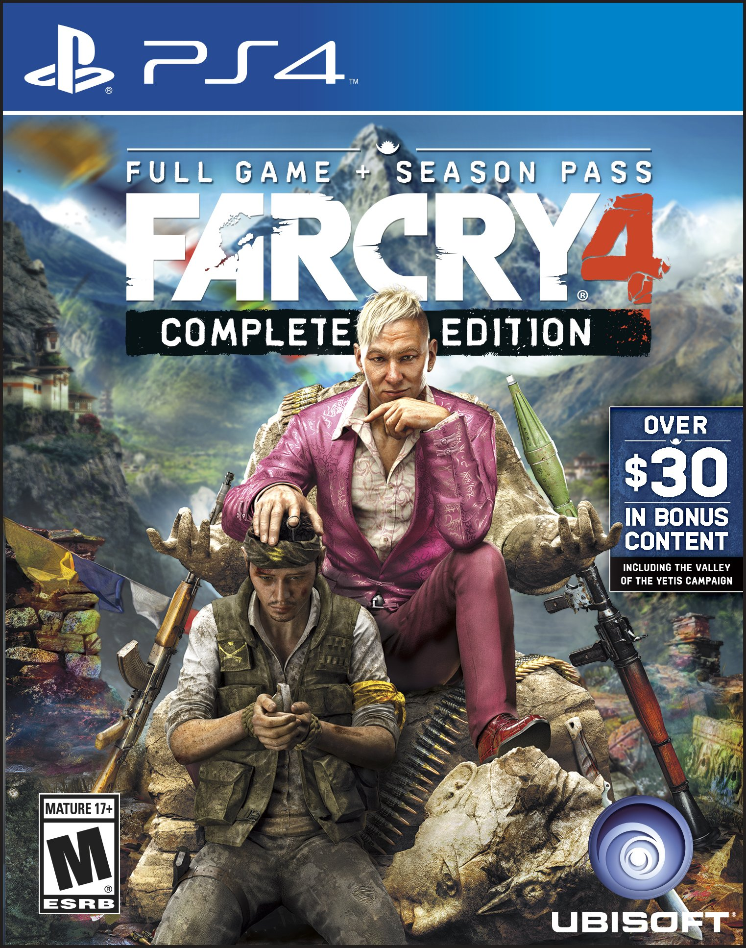 far cry 4 complete edition release date xbox one ps4. Black Bedroom Furniture Sets. Home Design Ideas