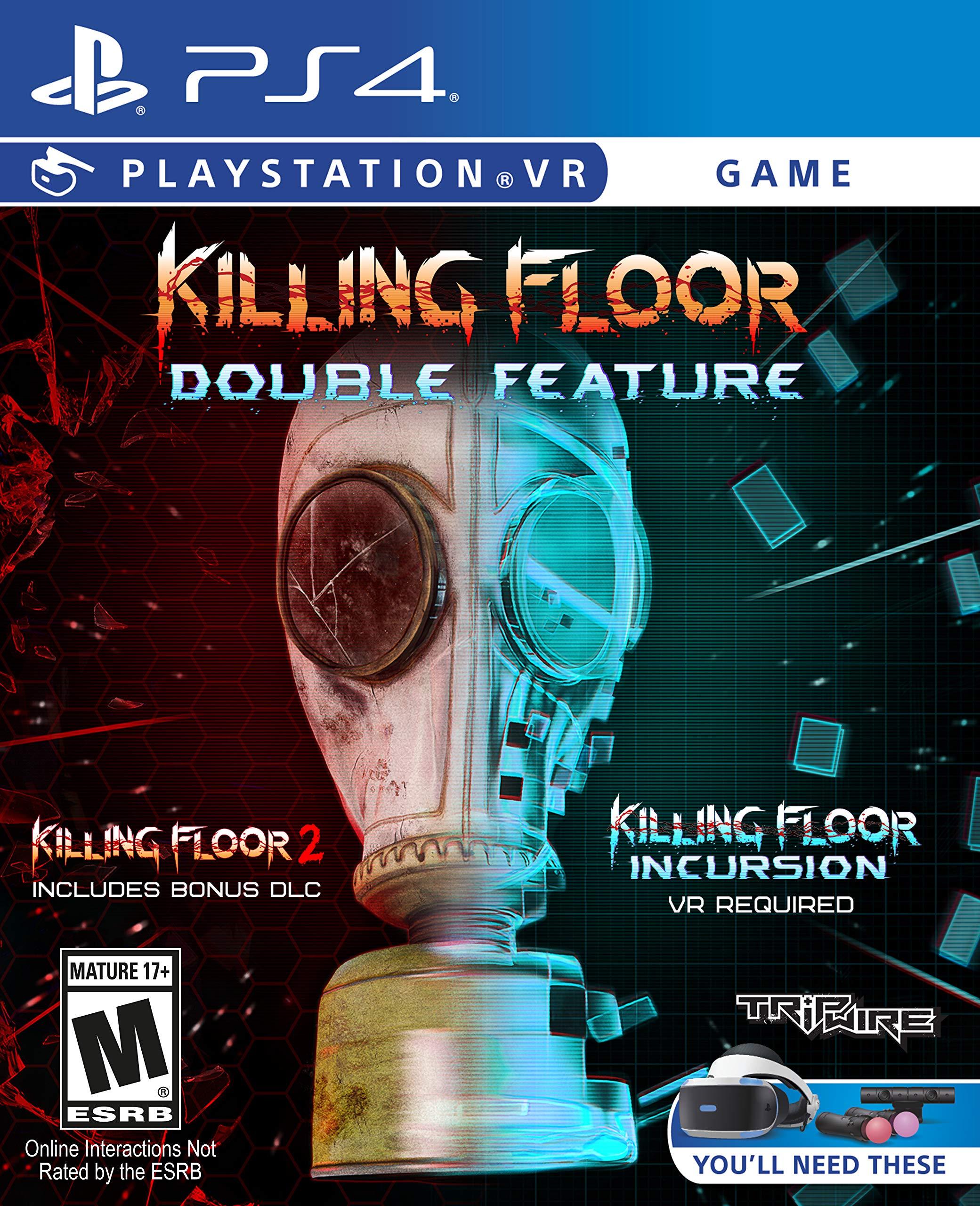 Killing Floor 2 Incursion: Killing Floor: Double Feature Release Date (PS4