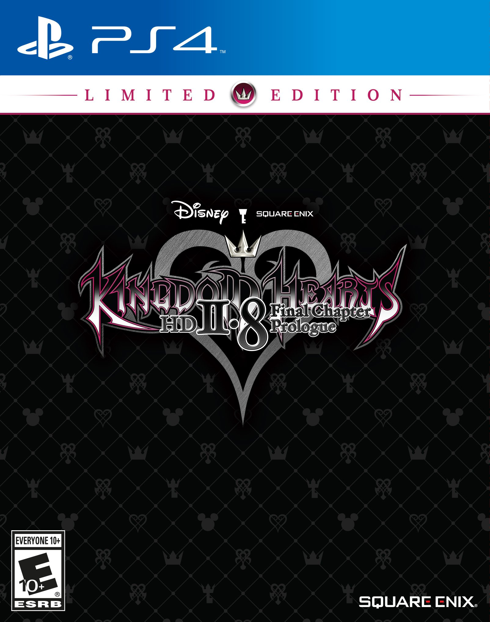 Kingdom Hearts HD 2 8 Final Chapter Prologue Limited Edition