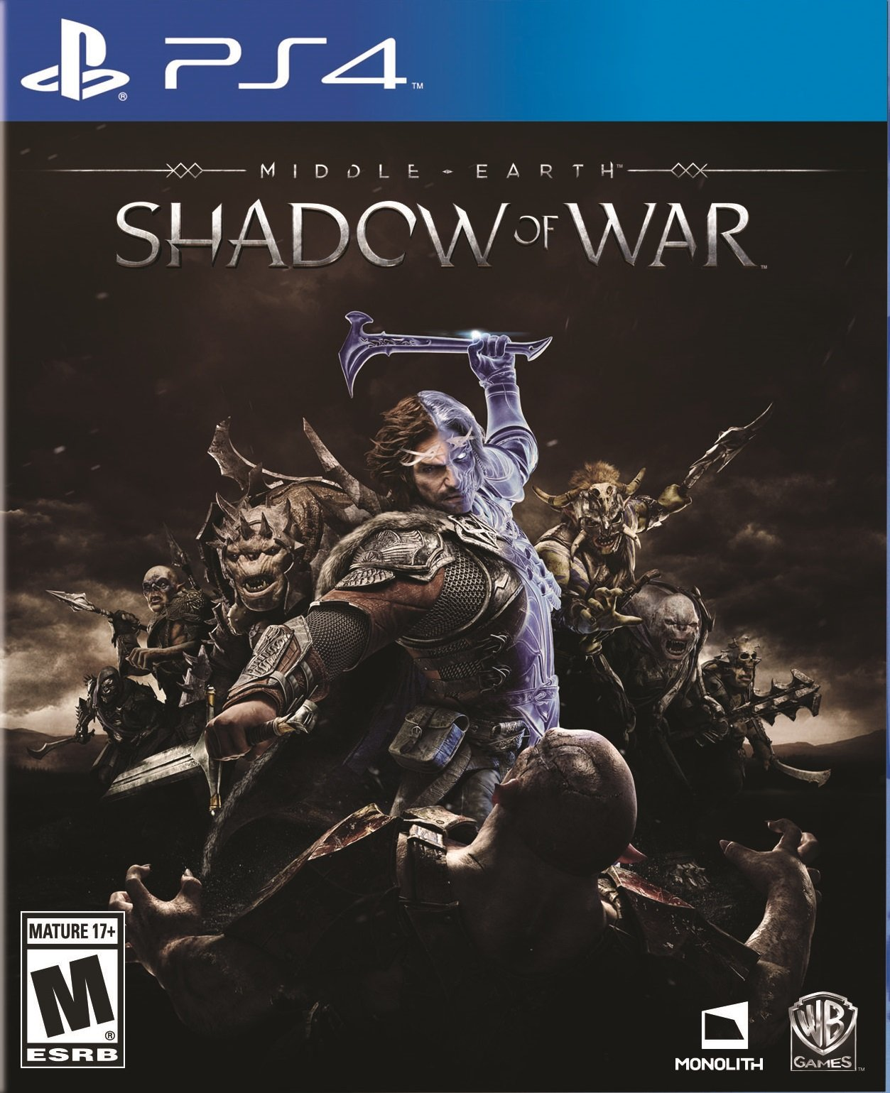 Kết quả hình ảnh cho Middle-earth Shadow of War 2 cover ps4