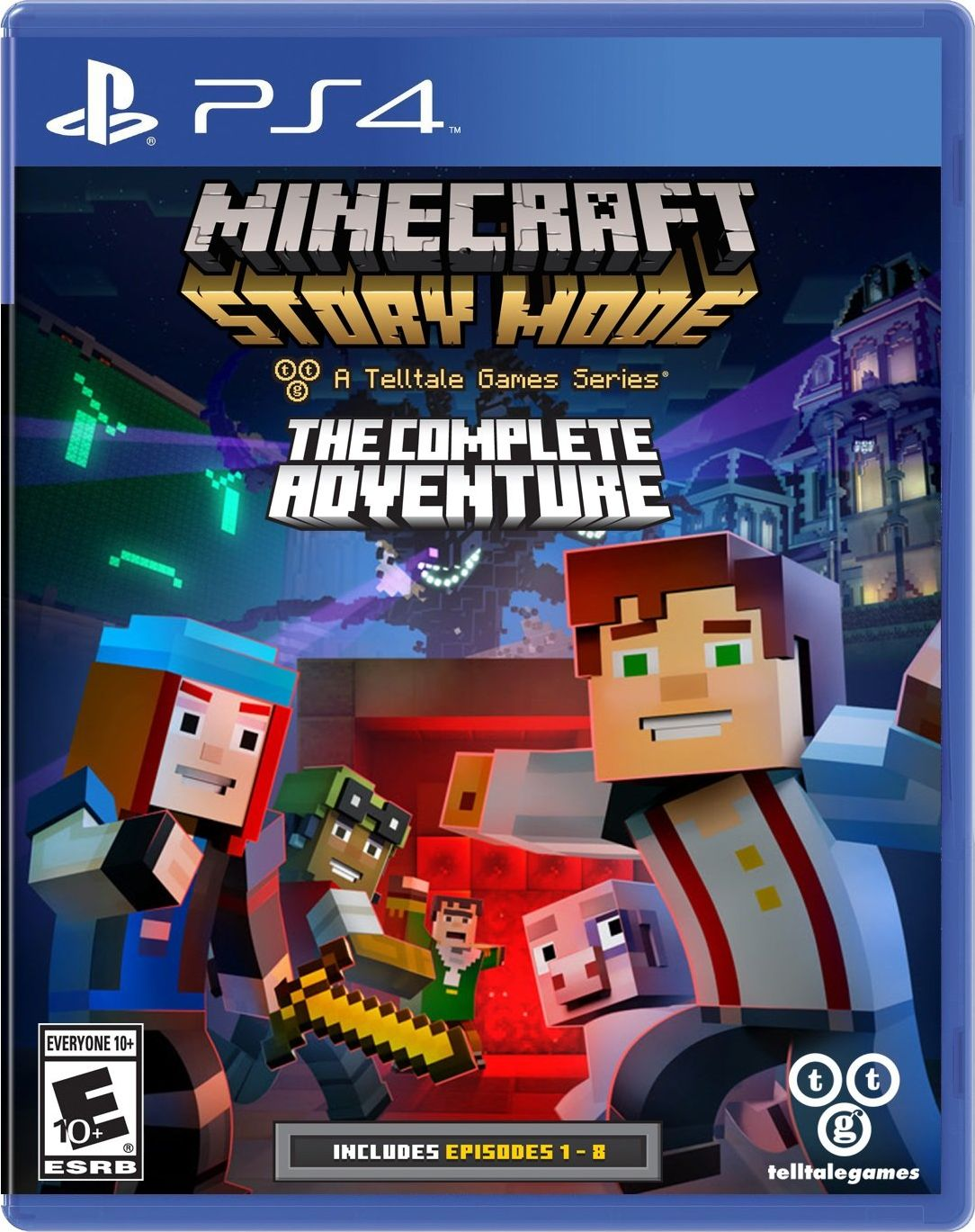 Minecraft Story Mode Season Disc Release Date Xbox 360 Ps3