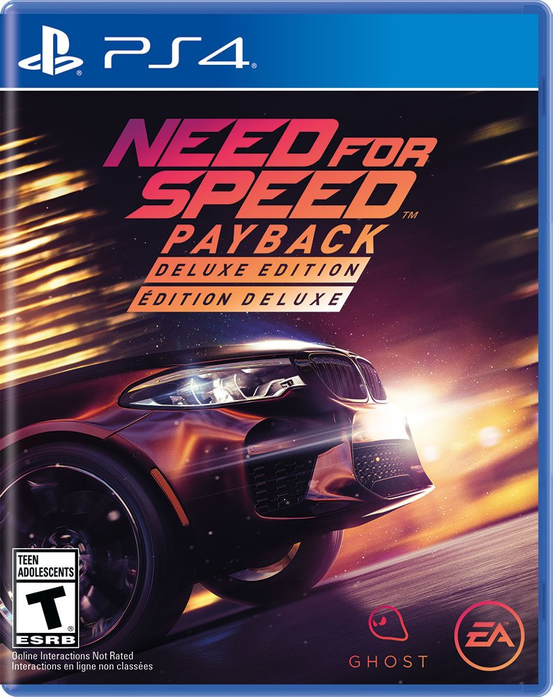 Need For Speed Payback Deluxe Edition Release Date Xbox One PS4