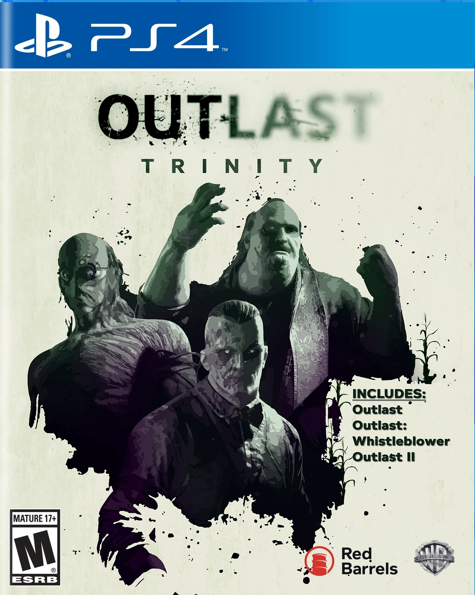 outlast ps3 game case