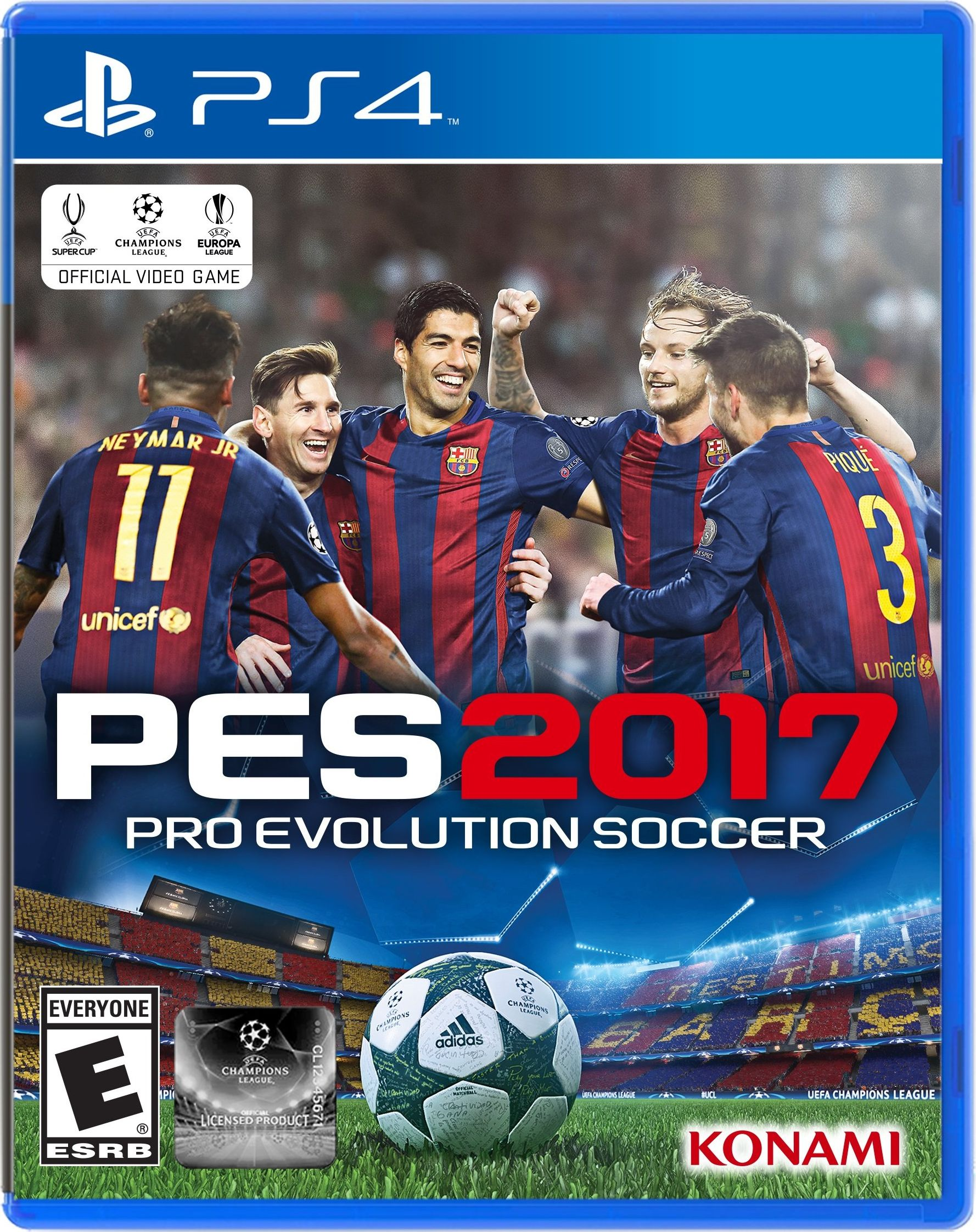 Pro Evolution Soccer 2017 Release Date (Xbox 360, PS3 ...