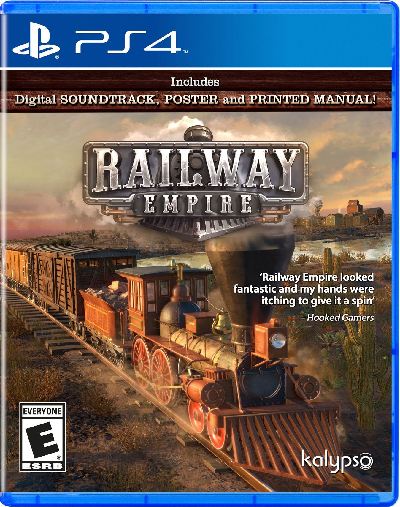Railway Empire Release Date (PC, Xbox One, PS4)