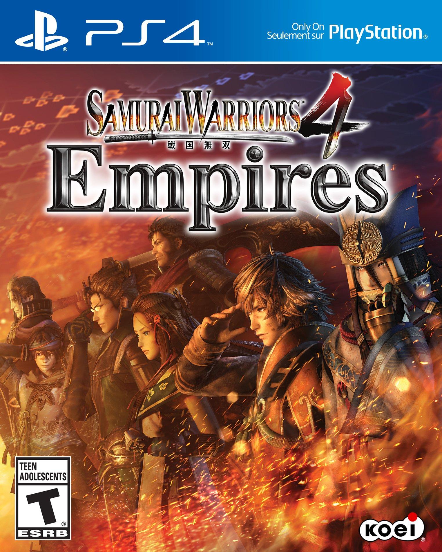 Samurai Warriors 4 Empires Release Date (PS4