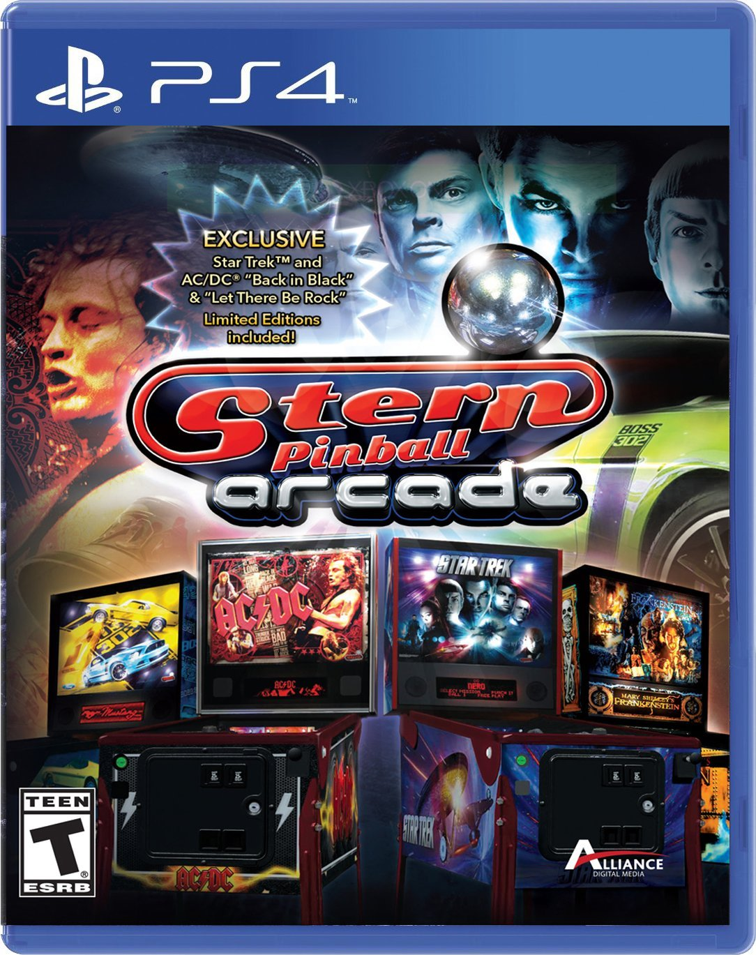 Stern Pinball Release Date (Xbox One, PS4)