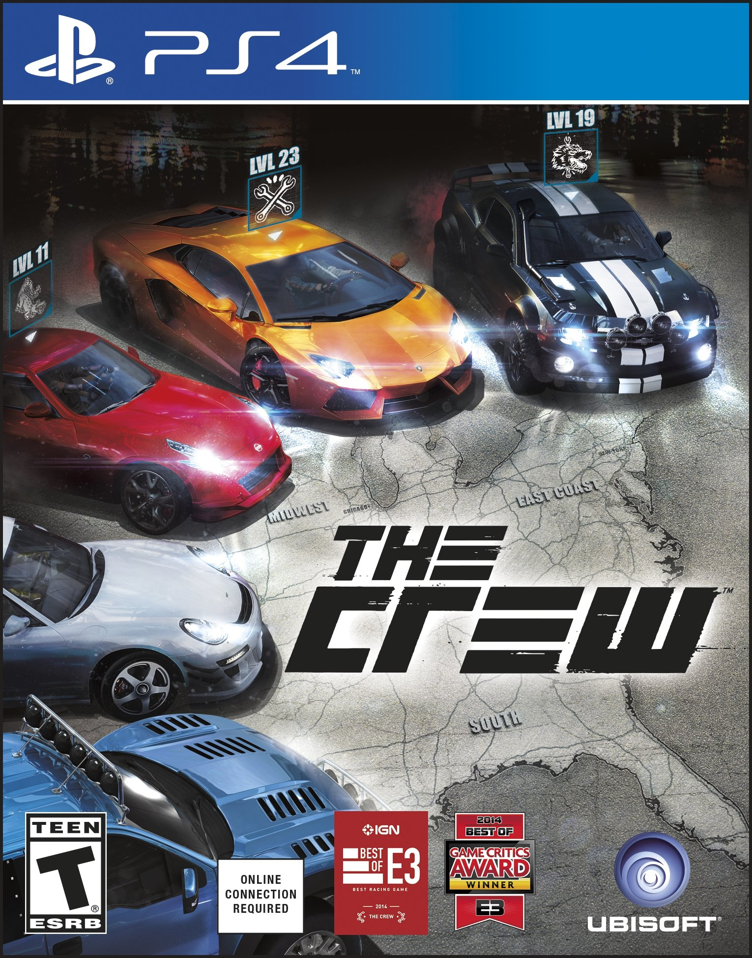 the crew release date xbox 360 pc xbox one ps4. Black Bedroom Furniture Sets. Home Design Ideas
