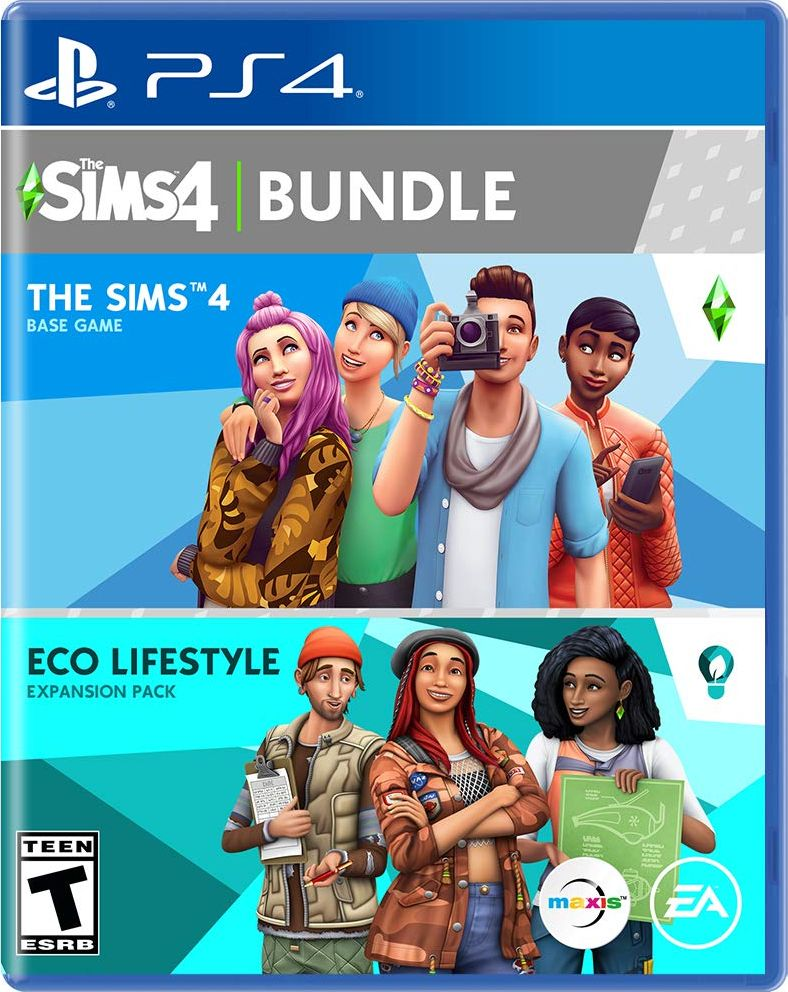 The Sims 4 Plus Eco Lifestyle Bundle Release Date (Xbox