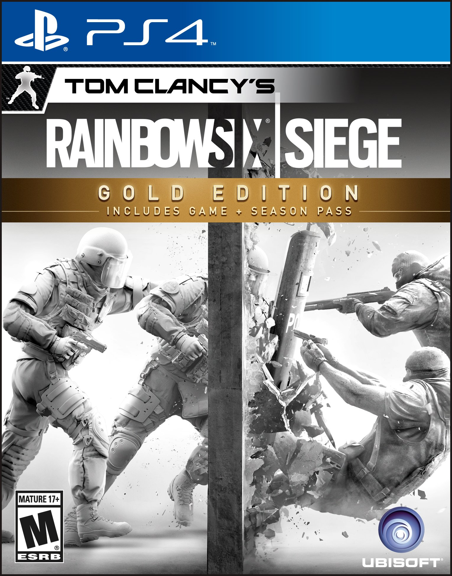 Tom Clancy Games For Ps4 : Tom clancy s rainbow six siege gold edition release date