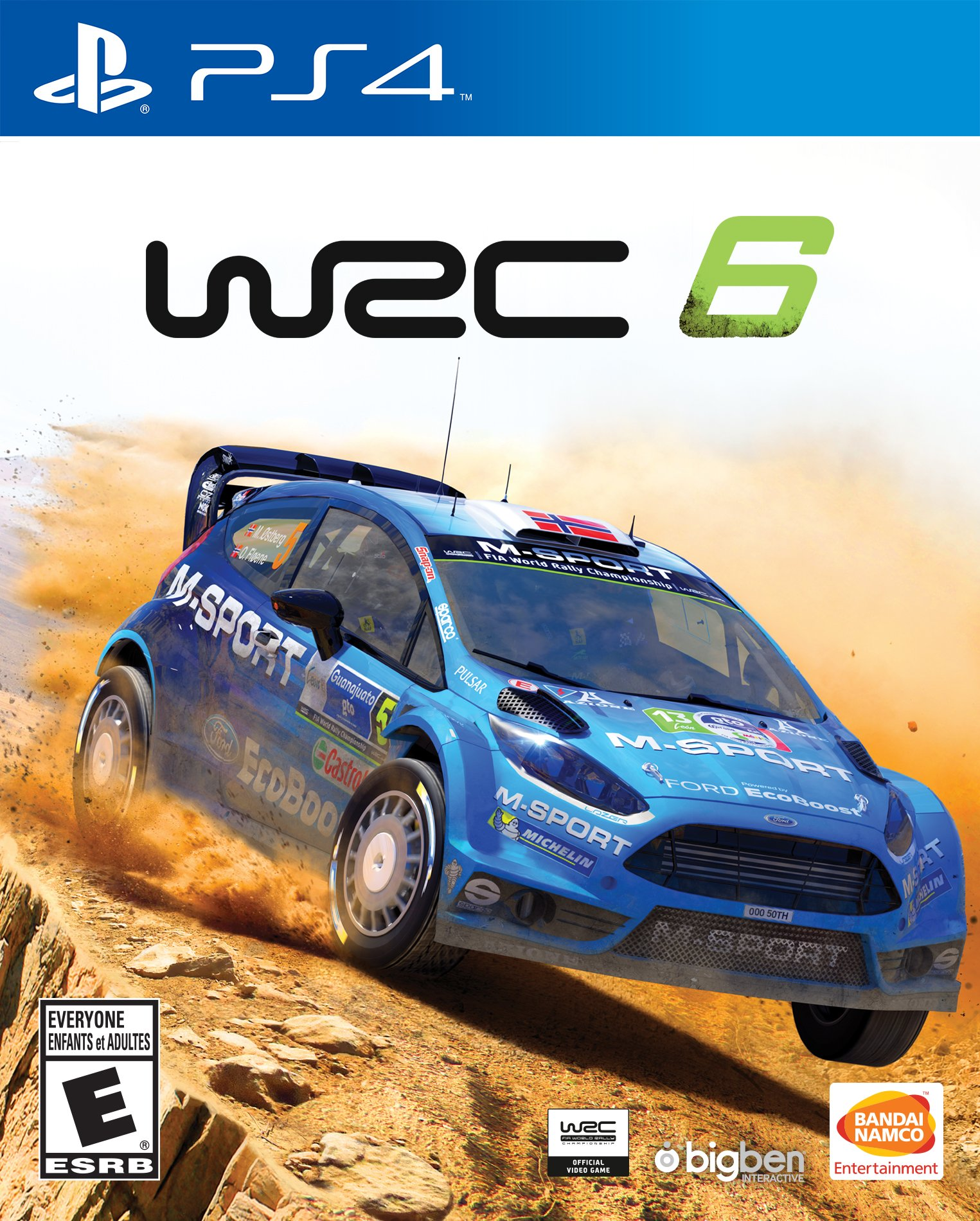 wrc 6 world rally championship release date xbox one ps4. Black Bedroom Furniture Sets. Home Design Ideas
