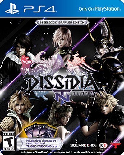 Dissidia Final Fantasy NT Steelbook Brawler Edition