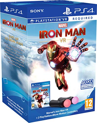 Marvel?s Iron Man VR ? PlayStation Move Controller Bundle