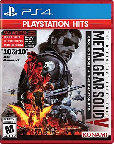 Metal Gear Solid V: The Definitive Experience PlayStation Hits