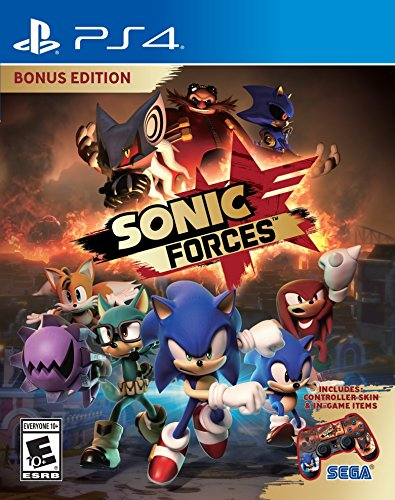 Sega of America Sonic Forces Bonus Edition