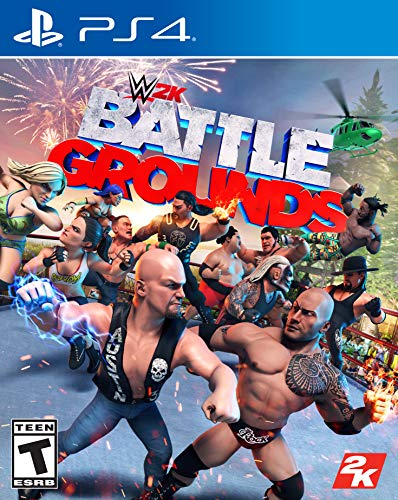 WWE 2K Games Battlegrounds