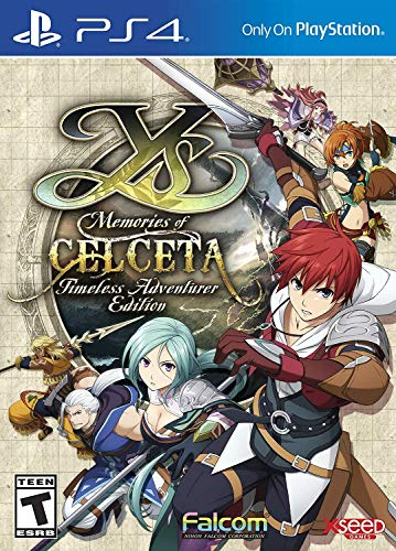 Ys: Memories of Celceta Timeless Adventurer