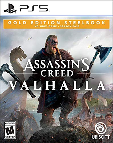 Assassin's Creed Valhalla Gold Steelbook Edition