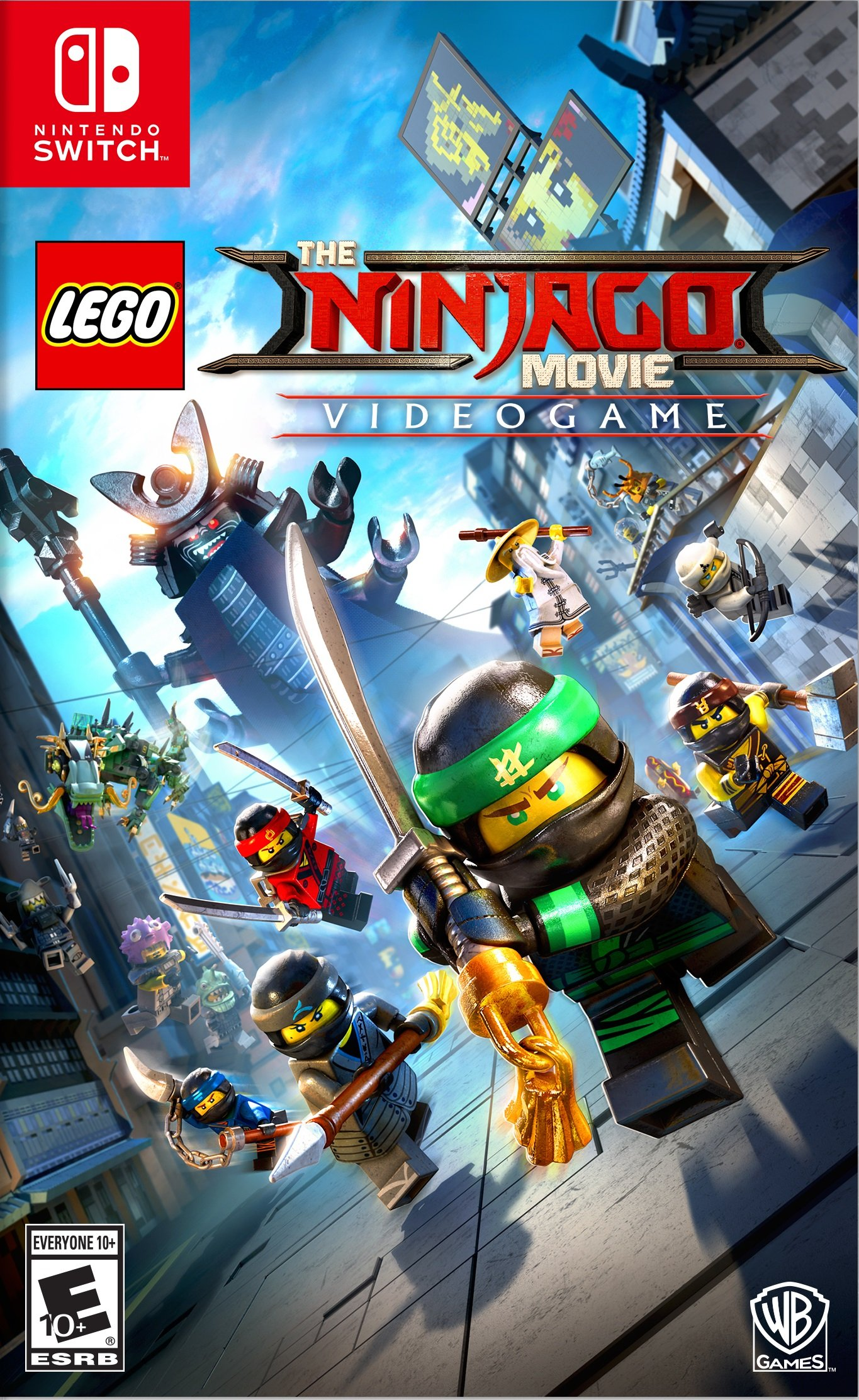 the lego ninjago movie videogame release date xbox one. Black Bedroom Furniture Sets. Home Design Ideas