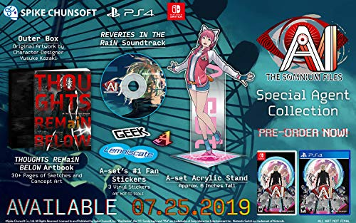 A.I.: The Somnium Files Limited Edition