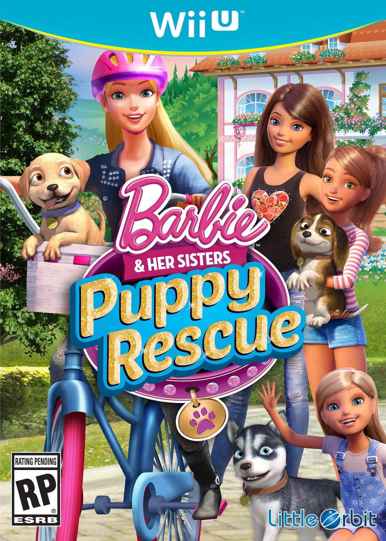 barbie puppy rescue 3ds game