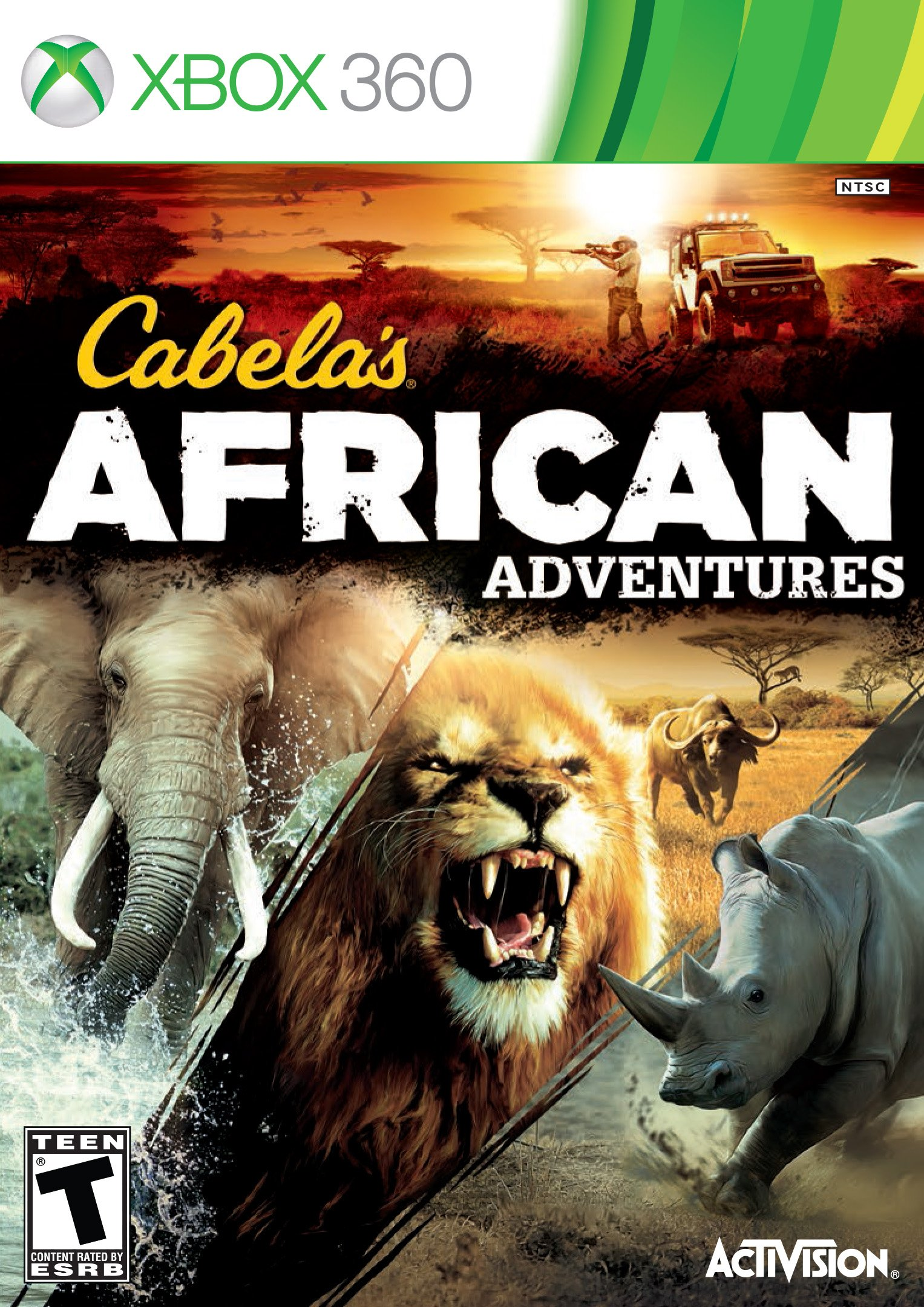 Cabela's African Adventures Release Date (Xbox 360, PS3, Wii) Xbox 360 Game Covers Download