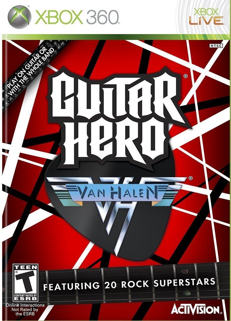 Guitar Hero Van Halen Release Date Xbox 360 Ps3 Wii