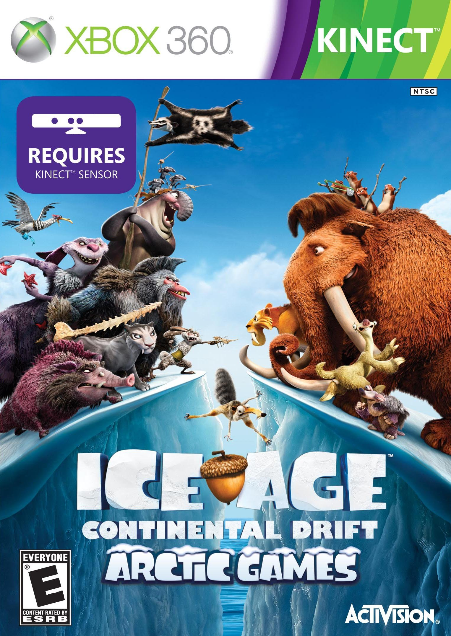 ice age: continental drift release date (xbox 360, wii, ds, 3ds)