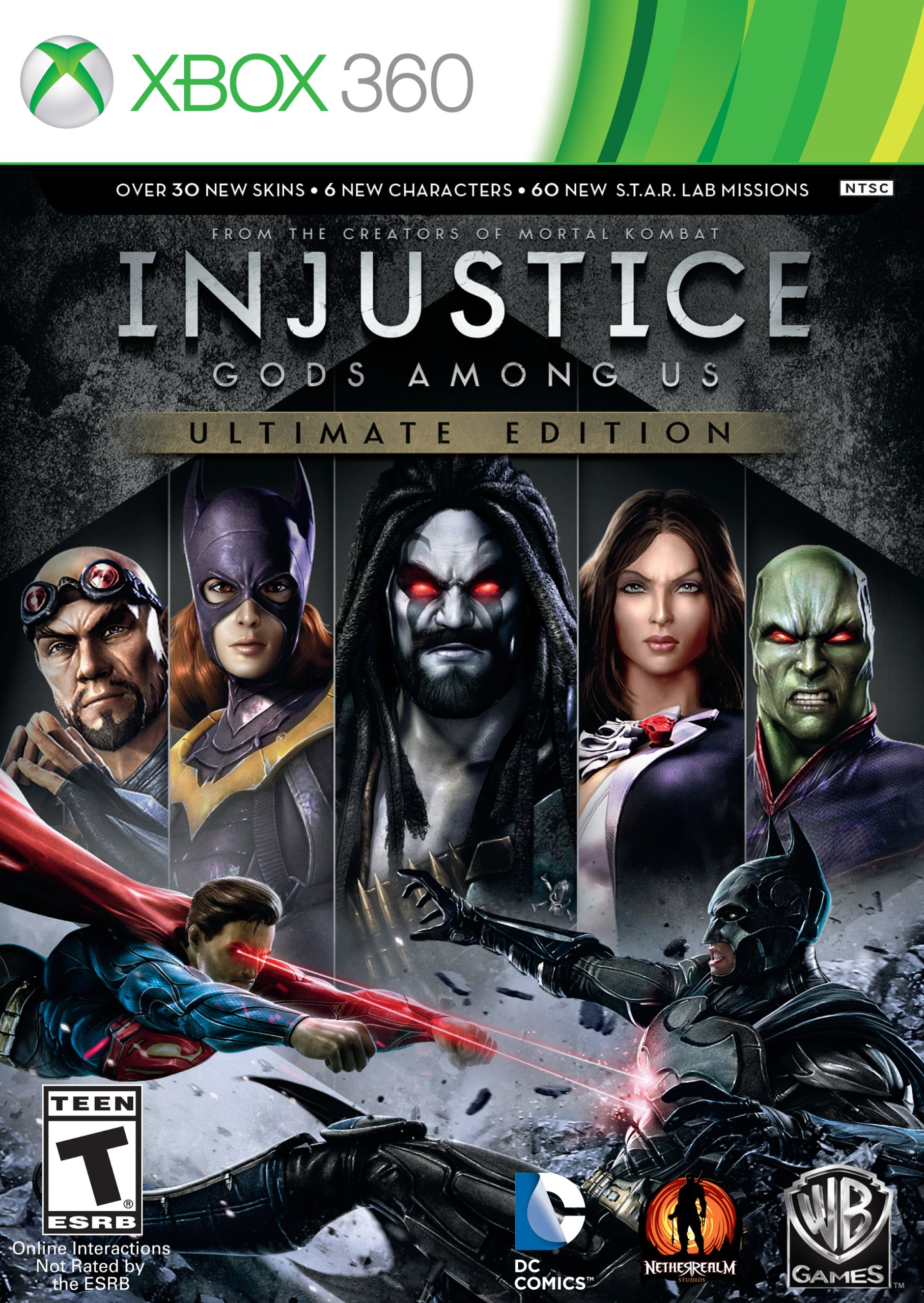 Injustice: Gods Among Us Ultimate Edition Release Dates
