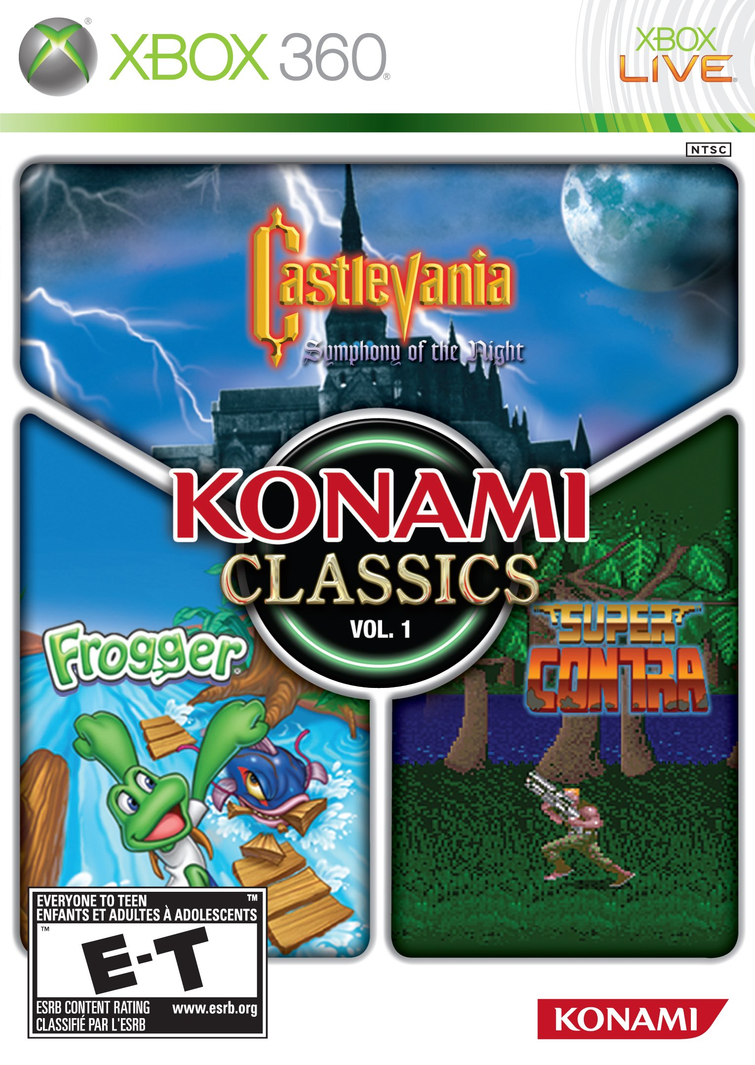 Fun Games For Xbox Original : Konami classics volume release date xbox